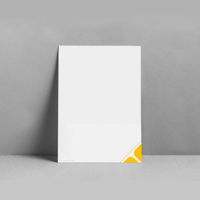 Lebenslauf portfolio video und fotografie in gelb